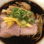 92943210 - 黒煮干ラーメン(並)700円