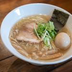 武麗舞 - 料理写真:淡麗鹽旨拉麪(たんれいしほうまそば)