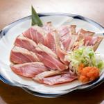 つかさ - 料理写真:マグロ大トロの炙りポン酢