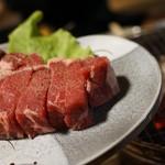 ほりがね炭火焼肉料理店 - 料理写真:三馬力ステーキ