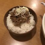 92951896 - チャーシュー丼 200円