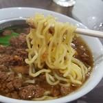 味楽瑠 - 麺はプニッとした弾力のあるタイプ