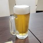 味楽瑠 - 「生ビール (450円)」