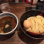 三田製麺所 - つけ麺味玉付き
