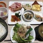松江エクセルホテル東急 - 朝食ビュッフェで