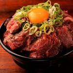 ハラミマウンテン丼 (ディナータイム10食限定)
