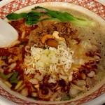 """自家製麺 魚担々麺・陳麻婆豆腐 """"dan dan noodles"""" - 濃厚白胡麻担々麺♪"""