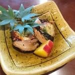 林屋 - 新秋刀魚と 秋なす の肝醤油焼き 540円☆☆☆☆☆