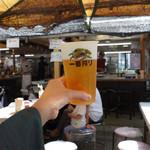 花山 - 生ビール。