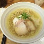 鶏と魚 - 塩らぁ麺