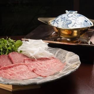 うかい竹亭 - 料理写真:うかい特選牛すき鍋