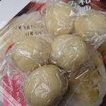 泉水園 - ・栗だんご 140円(税込) ×5