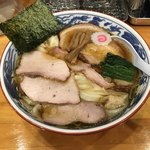法隆 - 料理写真:焼豚ワンタン麺