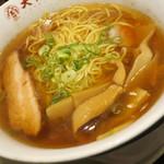 大阪王将 - 煮干醤油ラーメン