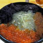 郷土料理 ひろ瀬 - 魚卵丼