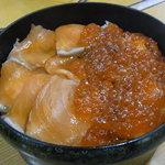 郷土料理 ひろ瀬 - 鮭の親子丼