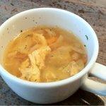 ワイン食堂 グリッツ - ランチのスープ