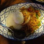 新宿 ランブータン - ガパオライス 鶏挽肉のホーリーバジル炒め 1180円