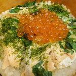 わっぱ飯 田舎家 - 料理写真:魯山人わっぱ膳の鮭親子わっぱ飯