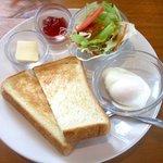 イージーライフカフェ - ふつうのトーストセット!