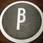 ブラッセルズビアプロジェクト新宿 - [内観] 店名ロゴ入りコースター (裏) アップ♪w