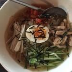 92965276 - 冷麺セットの冷麺(盛岡)