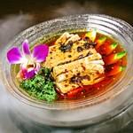 本格中華ダイニング 豫園小龍包 - 四川よだれ鶏            本番三十種類以上調味料使い、自慢の一品です。