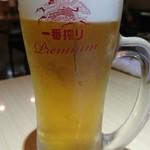 ン・オリジナルカレー - ビール