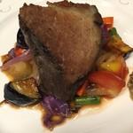 Taverna Mezzanotte - 豚肩ロースの低温調理 コンフィ