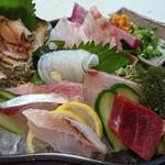 ふじけん  - 7種魚盛合せ