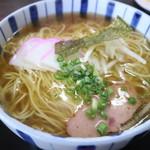 牟礼製麺 - 料理写真:中華そばです☆ 2018-0918訪問