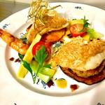 Taverna Mezzanotte - 甘鯛のクラッカンテ うろこ焼き