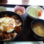 グリーンハウス - ひまわりステーキ丼ランチ(945円