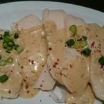 渋谷餃子 - 蒸し鶏