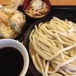 久兵衛屋 - 料理写真:上天ざるうどん(税別790円)