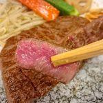 鉄板Diner JAKEN - 美しいサシ