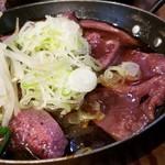 屯縁房 - 料理写真:レバ刺