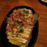 海鮮釜居酒 花火 - 山芋めんたいマヨ鉄板焼き