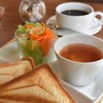 カフェ サンズ - モーニング