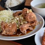 油淋鶏定食