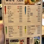 92984832 - 料理メニュー