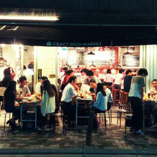 1号店である虎ノ門店◆クラフトビール初心者の方も大歓迎です