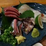 あんとく - 料理写真:新鮮刺身五種盛