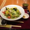 そばうどん 花旬庵 - 料理写真:黒酢サラダそば