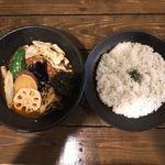 一文字カリー店 - スープカリー ベジタブル