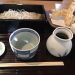 Teuchisobanotaguto - せいろ780円               えび天ぷら600円