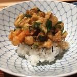 たきや - 松茸の天丼