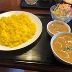 ネパール インド料理店 シーマ - 全部黄いないがや‼️(涙)