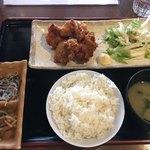 木村屋本店桜丘町 - からあげ定食800円