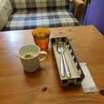 NEW YORK CAFE - ランチにつくクラムチャウダー